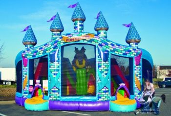 Bounce and Slide Fun House