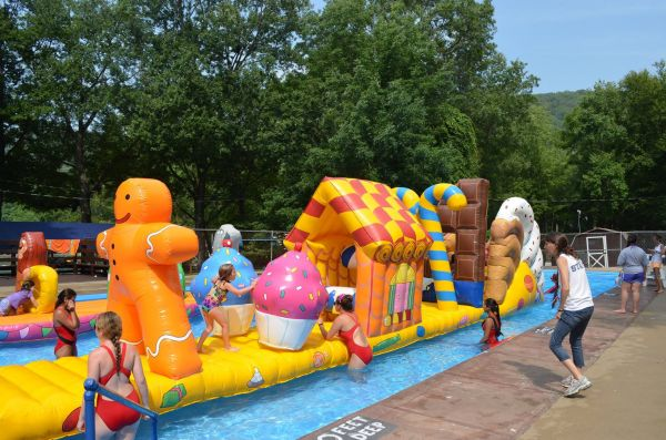 Candy Land Pool Inflatable