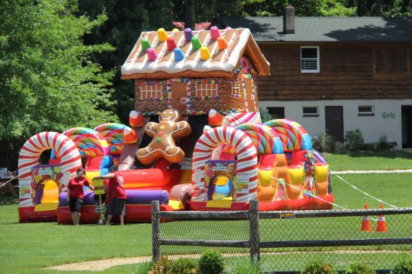 Candy Land Obstacle Course