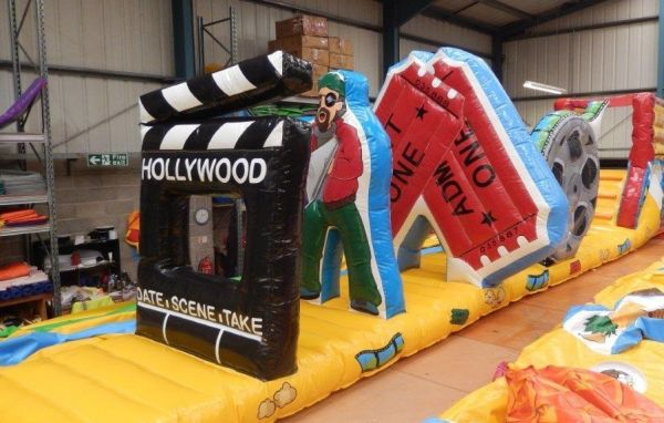Movie Pool Inflatable