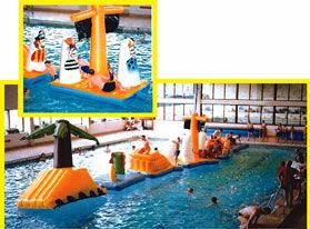 Pirate Island Pool Inflatable