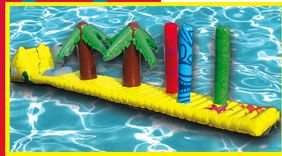 Tiki Island Pool Inflatable