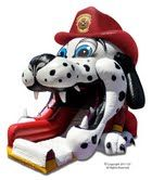 Fire Dog Slide